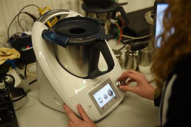 Thermomix recette marketing des ann es 70 pour robot de - Robot cuisine allemand ...
