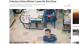Cet homme a remporté 1.000.000 $ au Lotto mais ne touchera pas un centime! 125