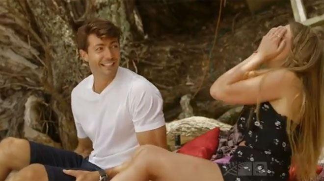 Une candidate du Bachelor a des gros soucis gastriques en plein tournage d'une scène romantique- Viens-tu de... (vidéo) 85