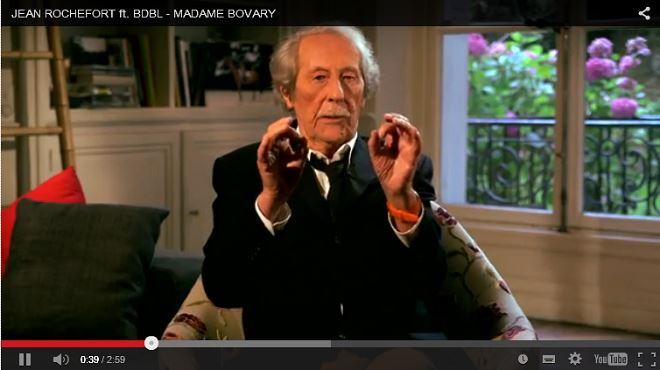 Hilarant - Jean Rochefort, 84 ans, explique Madame Bovary aux jeunes (vidéo) 65