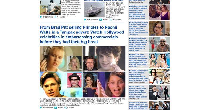Voici les pubs embarrassantes dans lesquelles ont joué Brad Pitt, Leo Di Caprio ou encore Naomi Watts quand ils étaient jeunes (vidéo) 56