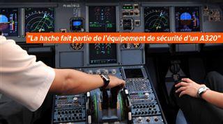 Crash de l'Airbus- le pilote hors du cockpit a tenté de forcer l'entrée avec une hache 2
