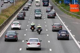 Une étude le prouve- en Belgique, la moitié des motards ne respectent pas les règles dans les files 6
