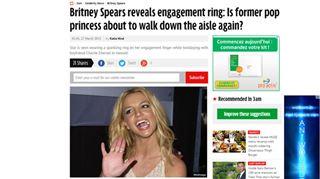 Britney Spears à nouveau mariée? La star a été aperçue avec une étrange bague à son doigt 42