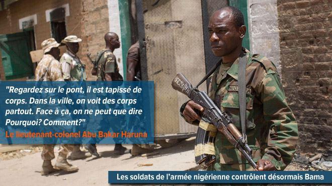 Vision d'horreur et odeur pestilentielle à Bama- les rues sont jonchées de corps après la fuite de Boko Haram 11