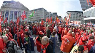Une manifestation syndicale prévue ce lundi à Bruxelles- voici les endroits à éviter 8