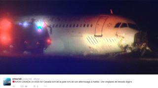 Un Airbus A320 se loupe au Canada- 25 personnes hospitalisées après une sortie de piste effrayante (vidéo) 2