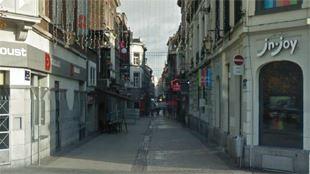 Liège- à peine sorti de prison, il tente de cambrioler un commerce dans le Carré 21