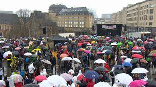 Bruxelles- 17.000 personnes sous la pluie à la parade de Tout Autre Chose 11