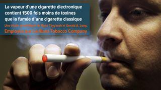 Pourquoi l'industrie du tabac paie-t-elle des chercheurs pour dire que la cigarette électronique est moins nocive que la cigarette normale? 2