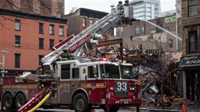 New York- deux corps retrouvés dans les décombres de l'immeuble de la friterie belge 15