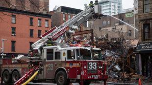 New York- deux corps retrouvés dans les décombres de l'immeuble de la friterie belge 14