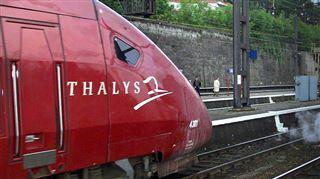 Dernier voyage du Thalys wallon- usagers et syndicats se rassemblent partout sur le trajet du train 17
