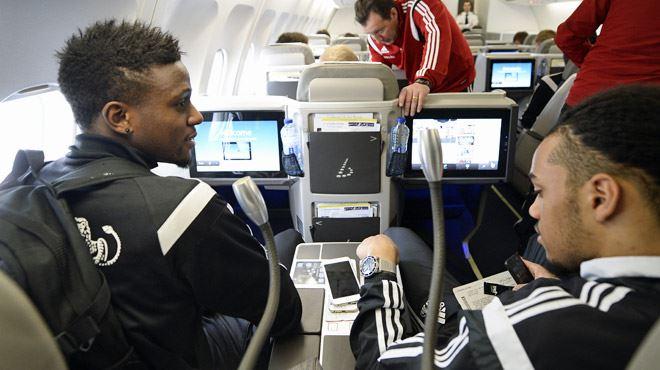 Grand luxe pour les Diables Rouges dans l'avion- cela vaut-il 100.000€ de plus ? 1
