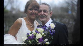 Atteinte d'un cancer, cette Britannique n'aurait pas pu réaliser son dernier souhait sans l'aide de nombreux étrangers 8