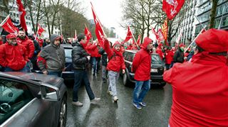 Manifestation syndicale- le point sur les perturbations dans les transports en commun à Bruxelles, en Brabant wallon et à Charleroi 4