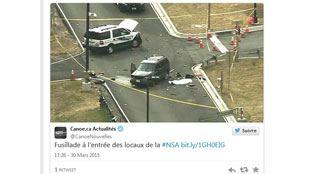 Fusillade à l'entrée des locaux de la NSA et du Cyber command de l'armée américaine- un mort 5