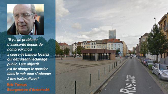 Nora se sent en insécurité dans le quartier Clémenceau à Anderlecht- J'ai peur le soir en sortant du métro avec mon petit garçon 7
