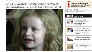 En pleine nuit, une fillette de 4 ans prend le bus seule pour aller chercher une glace (vidéo) 36