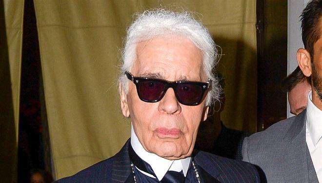Karl Lagerfeld sans ses lunettes noires, ça donne quoi ? (photos) 29