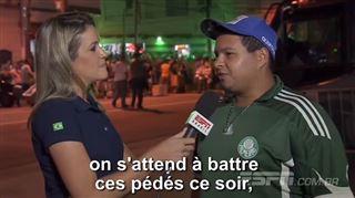 Une journaliste remet à sa place un supporter de foot- Jeune homme, je vais te dire quelque chose…(vidéo) 26