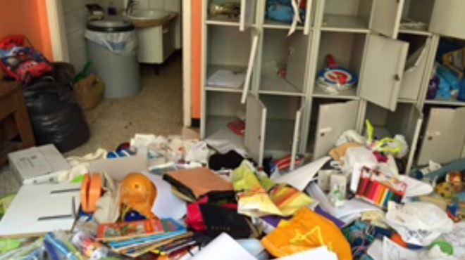 Cette école de Molenbeek a été vandalisée pour la 4e fois en 2 semaines- Ils ont tout forcé au pied-de-biche 1