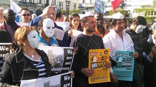 Naufrage en Méditerranée- mobilisation à Bruxelles pour une autre immigration en Europe 4