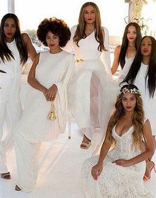 Beyoncé dévoile les images magnifiques du mariage de sa mère (photos) 17