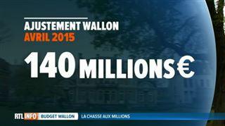 Le gouvernement wallon doit encore trouver 140 millions d'euros- comment va-t-il faire? 2