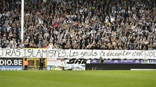 SCANDALE à Charleroi- des supporters appellent à décapiter les ULTRAS ISLAMISTES du Standard 5