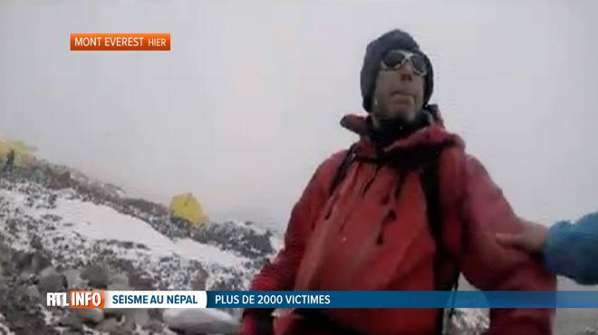 Un Belge a assisté à une avalanche suite au séisme au Népal- Je me suis mis à courir pour rester en vie (vidéo) 1