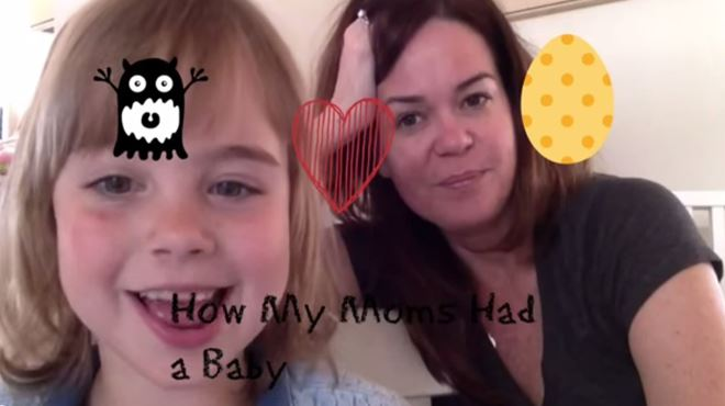 Cette fillette explique comment ses deux mamans ont réussi à avoir un bébé (vidéo) 9