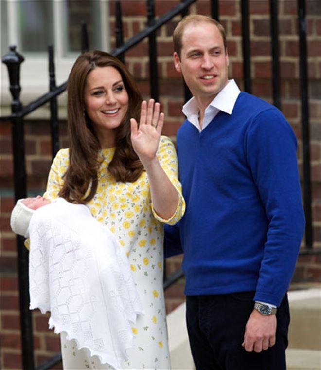 Le prénom du bébé de William et Kate dévoilé - elle s'appelle Charlotte Elisabeth Diana 1