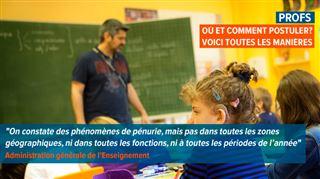 Zyed cherche désespérément un job en tant que prof de français- La pénurie d'enseignants, c'est une blague ? 2