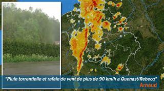 Des pluies torrentielles s'abattent sur le pays- envoyez-nous vos photos et vidéos 2