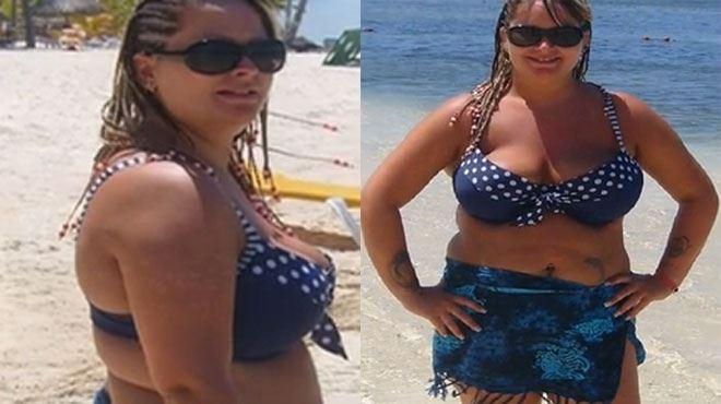 L'incroyable métamorphose de Claire, ex-obèse- Cette phrase a changé ma vie! (photos et vidéo) 1