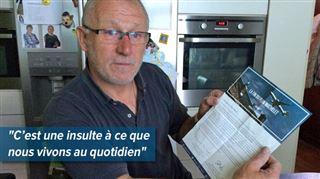Alors que des avions repassent au-dessus de sa commune, Alain reçoit un courrier honteux du MR 5