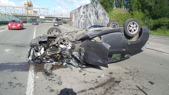 L'échevin de Charleroi, Serge Beghin, victime d'un accident à Dampremy 1