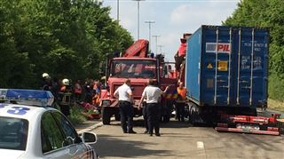 Chaos sur la E411 vers Bruxelles- deux accidents, plus de 20 km de bouchons et plus de 3h de retard 2