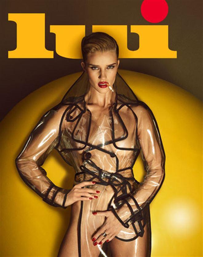 TORRIDE- Rosie Huntington-Whiteley complètement nue pour le magazine Lui! (photos) 1
