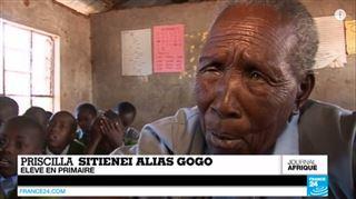 Voici l'élève de primaire la plus âgée du monde (vidéo) 3