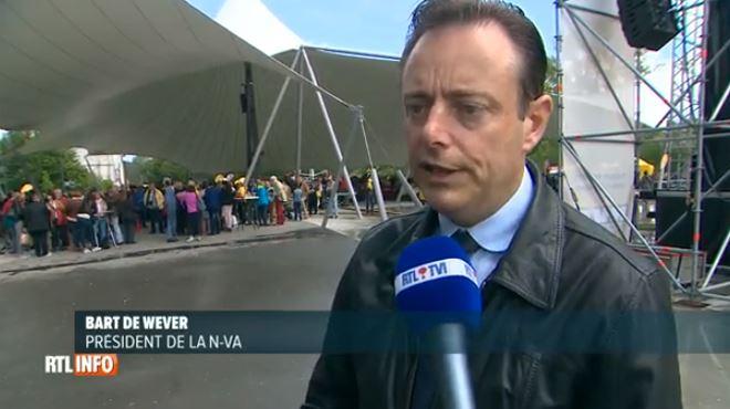Bart De Wever rappelle l'objectif de la N-VA- Une Flandre autonome 1