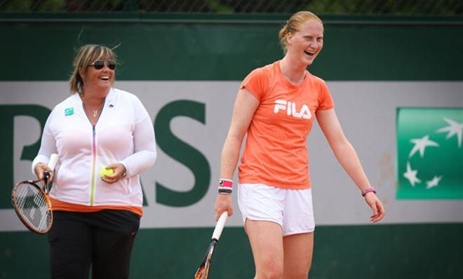 Van Uytvanck continue son superbe parcours et se retrouve en 1/8 de finale de Roland-Garros! 1