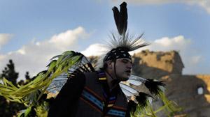 Un jeune Amérindien