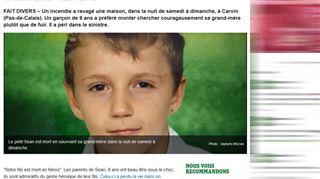 Mort d'un petit héros dans le nord de la France- Il a sauvé la vie de sa mamie au prix de la sienne 4