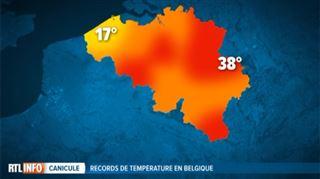Pluie et vent à Middelkerke et pas de canicule- la Belgique divisée par d'énormes écarts de température 4