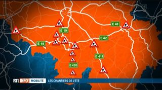Chantiers sur nos routes- quels seront les points noirs de l'été? 2