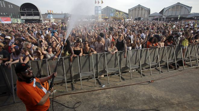 La canicule n'arrête pas les festivaliers- que font les organisateurs de Couleur Café face à la situation? (photos) 4