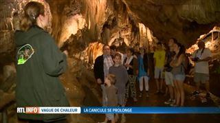 Les grottes, un refuge de rêve face à la canicule- On est bien ici, à 13 degrés 4