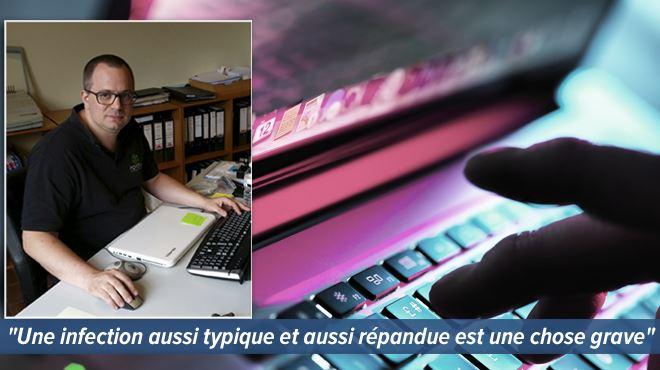 Des PME liégeoises rançonnées par un nouveau virus- Il ne faut surtout pas payer 5